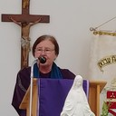 Dr. Mary Soho speaking on Martyrs of La Florida
